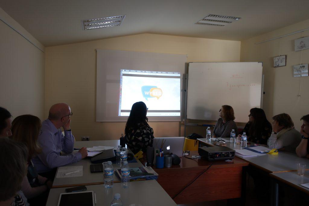 Presentación de WYRED en la reunión del proyecto europeo STEMS